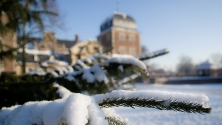 Schloss Ahaus im Winter