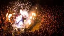 Fanfaren-Flammen-Feuerwerk 2013 - Feuerspektakel Saraph