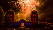 Fanfaren-Flammen-Feuerwerk 2013 - Feuerwerk