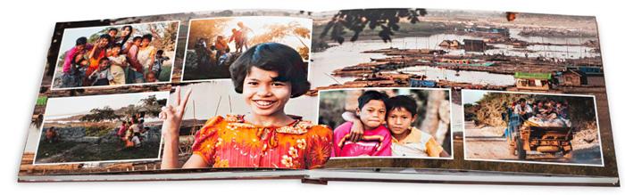 Fotobuch Myanmar 2012 Musterseite