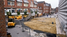 Ahaus - Baustelle Fußgängerzone (2006)