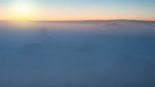 Sonnenaufgang in Tikal